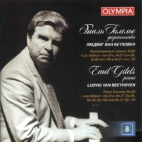 Emil Gilels Piano Sonata No. 30 in E Major, Op. 109: Variation II : Leggiermente