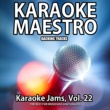 Various Artists Karaoke Jams, Vol. 22