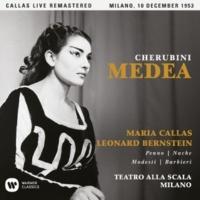 """Maria Callas Medea, Act 1: """"Qui tremar devi tu"""" (Creonte, Glauce, Chorus) [Live]"""