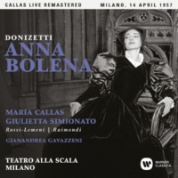 """Maria Callas Anna Bolena, Act 1: """"O! qual parlar fu il suo!"""" (Giovanna) [Live]"""