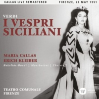 """Maria Callas I vespri siciliani, Act 2: """"Quale, o prode, al tuo coraggio"""" (Elena, Arrigo) [Live]"""