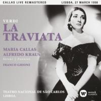 """Maria Callas La traviata, Act 2: """"Invitato a qui seguirmi"""" (Flora, Gastone, Dottore, Marchese, Chorus, Alfredo, Violetta, Barone) [Live]"""