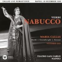"""Maria Callas Nabucco, Act 4: """"Va! la palma del martirio"""" (Zaccaria) [Live]"""