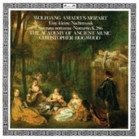 エンシェント室内管弦楽団/クリストファー・ホグウッド Mozart: Serenata notturna in D major, K. 239 - 2. Menuetto - Trio