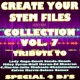 Express Groove Create Your Stem Files Collection Vol 7 ( Special Instrumental tracks with separate sounds & Remix Versions) [Tribute To Lady Gaga-Miley Sirus-Ed Sheeran Etc..]