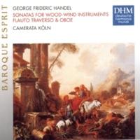 Camerata Köln Händel: Sonatas For Woodwind Instruments