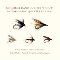 """Pinchas Zukerman Schubert: Piano Quintet """"Trout""""; Mozart: Piano Quartet in E-flat"""