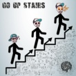 SAMURAI CHOPPERS Go up stairs