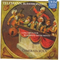 Camerata Köln Telemann/Cto. for Woodwind Instruments