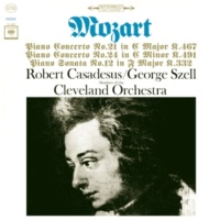 Robert Casadesus Mozart: Piano Concertos No. 21 in C Major K.467 & No. 24 in C Minor K.491; Piano Sonata No. 12 in F Major K.332 - Sony Classical Originals