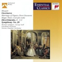 Thomas Schippers, Antonia Brico, George Szell, Bruno Walter, Philippe Entremont Mozart: Overtures; Divertimento, K. 131; Symphony No.28, K. 200