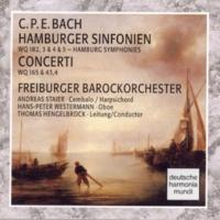 Freiburger Barockorchester C.P.E. Bach: Hamburger Sinfonien/Concerti