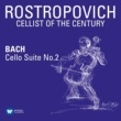 Mstislav Rostropovich Cello Suite No. 2 in D Minor, BWV 1008: III. Courante