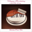Relaxing Piano Man Happy Birthday