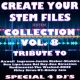 Express Groove Create Your Stem Files Collection Vol 8 (Special Instrumental Versions And tracks with separate sounds [Tribute To One Direction-Dua Lipa-U2-Justin Bieber Etc..])