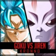 Kronno Zomber Goku vs Jiren