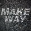 アロー・ブラック Make Way