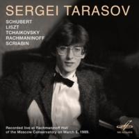 Sergei Tarasov Piano Sonata No. 13 in A Major, D. 664: I. Allegro moderato