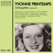 Yvonne Printemps Unforgotten Volume 3