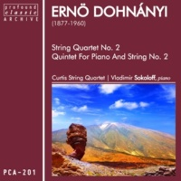 Curtis String Quartet String Quartet No. 2 in D-Flat, Op. 15: I. Andante - Allegro