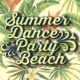 Hot Summer Dance Party Beach Summer Dance Party Beach