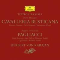 ジョーン・カーライル/ウーゴ・ベネッリ/カルロ・ベルゴンツィ/ジュゼッペ・タッデイ/ミラノ・スカラ座管弦楽団/ヘルベルト・フォン・カラヤン 歌劇《道化師》: 「彼のコップに妙薬を注ぐんだよ」