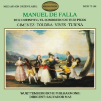 Württemberg Philharmonic Orchestra of Reutlingen & Salvador Mas Conde De Falla: The Three Cornered Hat & works by Gimenez, Toldra, Vives & Turina