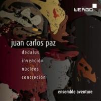 Ensemble Aventure&Alexander Ott Paz: Dédalus / Invención / Núcleos / Concreción