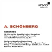 Pierre Boulez Schönberg: Serenade, Op. 24