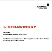 Sinfonieorchester des Südwestfunks Baden-Baden Igor Strawinsky: Agon. Ballet for Twelve Dancers