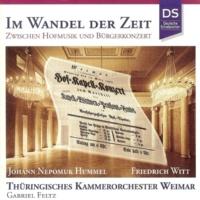 Thüringisches Kammerorchester Weimar Hummel & Witt: Im Wandel Der Zeit