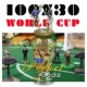 The Pocket Gods 100X30 World Cup