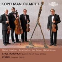 Kopelman Quartet Two Pieces for String Quartet (Elegy & Polka), Op. 36a: II. Polka - Allegretto