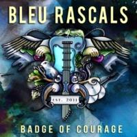 Bleu Rascals Badge of Courage