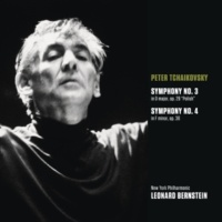 "Leonard Bernstein Tchaikovsky: Symphony No. 3 in D Major, Op. 29 ""Polish"" & Symphony No. 4 in F Minor, Op. 36"