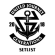 GENERATIONS from EXILE TRIBE GENERATIONS LIVE TOUR 2018 UNITED JOURNEY SET LIST