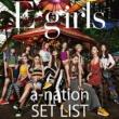 E-girls E-girls a-nation 2018 SET LIST