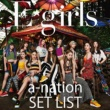 E-girls E-girls a-nation 2018 SET LIST