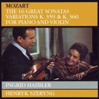 ヘンリク・シェリング/イングリット・ヘブラー 「泉のほとりで」の主題による6つの変奏曲 ト短調 K.360: Tema (Andantino) - Var. I/VI
