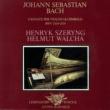 ヘンリク・シェリング/ヘルムート・ヴァルヒャ Bach, J.S.: Violin Sonatas Nos. 1-6