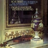 ヘンリク・シェリング/イングリット・ヘブラー Schubert: 3 Sonatinas; Violin Sonata in A Major