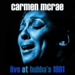 Carmen McRae That Old Black Magic (Live at Bubba's Jazz Restaurant, Florida, 17/01/1981)