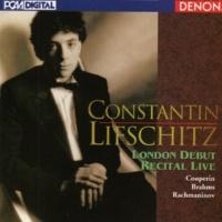 Constantin Lifschitz London Debut Recital Live