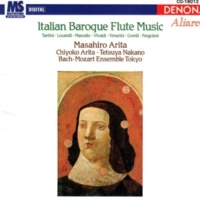 Chiyoko Arita/Masahiro Arita/Bach-Mozart Ensemble Tokyo/Tetsuya Nakano Italian Baroque Flute Music