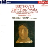 Yoshima Kojima Beethoven: Early Piano Works