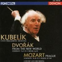 Czech Philharmonic Orchestra/Rafael Kubelik Mozart: Symphony No. 38 - Dvorak: Symphony No. 9