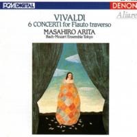 Masahiro Arita/Bach-Mozart Ensemble Tokyo Vivaldi: 6 Concerti for Flauto traverso