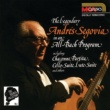 アンドレス・セゴビア The Segovia Collection Vol. 1: The Legendary Andrés Segovia In An All-Bach Program