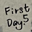 Takashi Yamamoto First day. 5