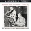 """Robert Casadesus/Zino Francescatti Violin Sonata No. 9, Op. 47 """"Kreutzer"""": III. Finale. Presto"""